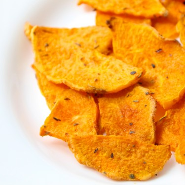 Crunchy Sweet Potato Chips