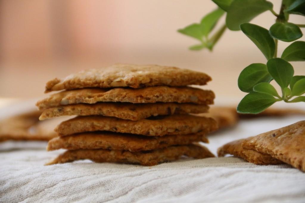 seed crackers recipe