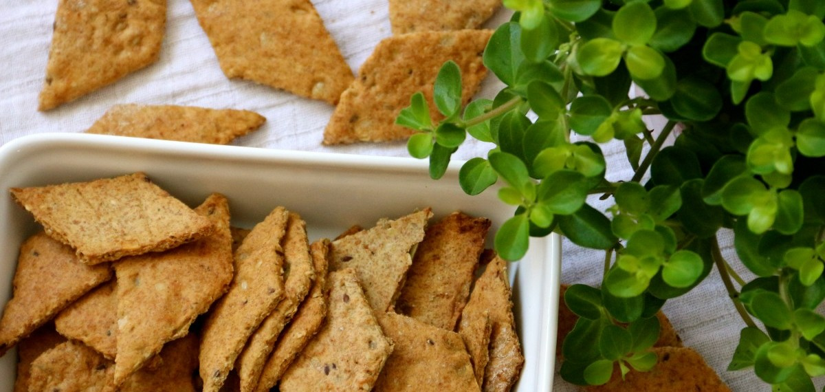 seed crackers recipe