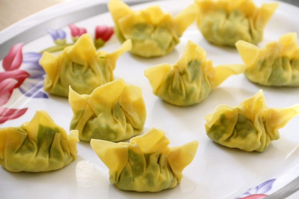 These steamed vegetarian dumplings will make even the most picky eaters eat their vegetables. Healthy toddler meal for sure.