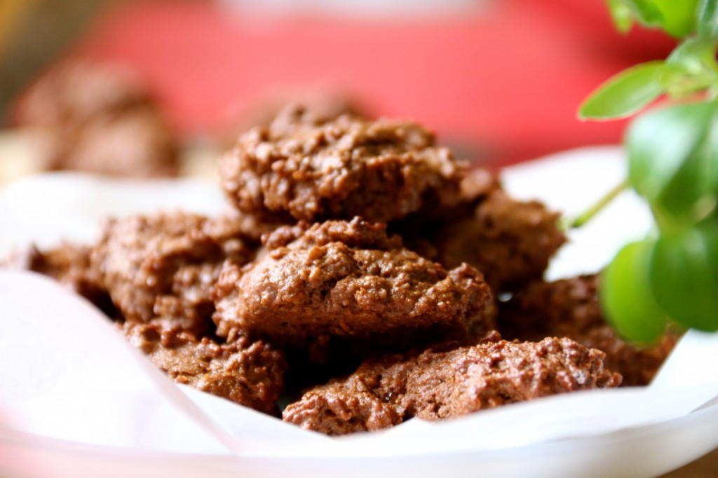The healthiest toddler treat ever: sugar-free chocolate cookies presented by Healthy Little Plate.