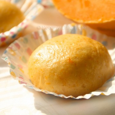 Delicious rich flavored pumpkin buns are perfectly healthy and tasty meal for your toddlers.